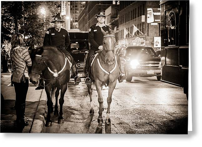 Chicago's Finest Greeting Card by Melinda Ledsome