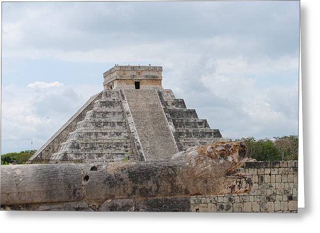 Greeting Card featuring the photograph Chichen Itza by Robert  Moss
