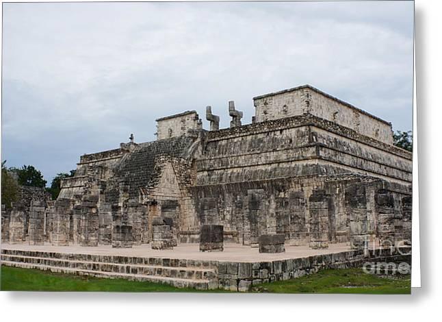 Chichen Itza Ruins 17 Greeting Card