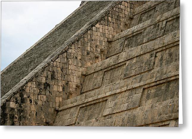 Greeting Card featuring the photograph Chichen Itza by Silvia Bruno