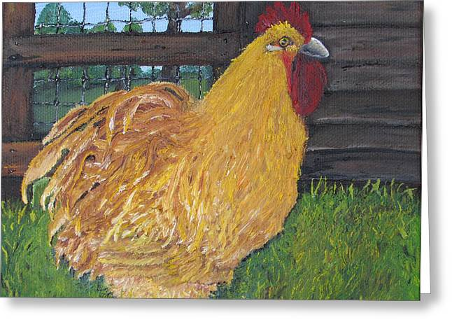 Chicken Charlie Greeting Card