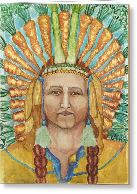 Chief 24 Carrots Greeting Card