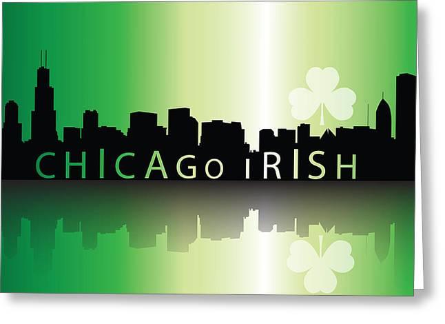 Chigago Irish Greeting Card