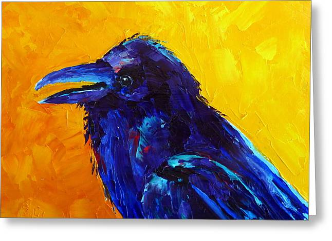 Chihuahuan Raven Greeting Card