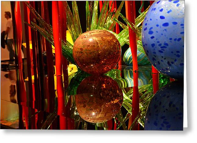 Chihuly-10 Greeting Card by Dean Ferreira