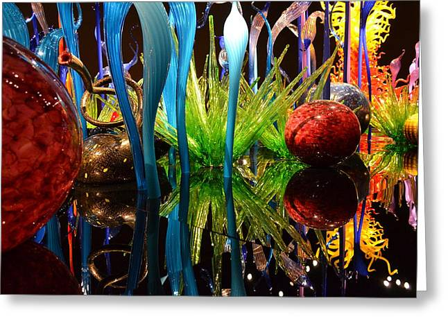 Chihuly-11 Greeting Card by Dean Ferreira