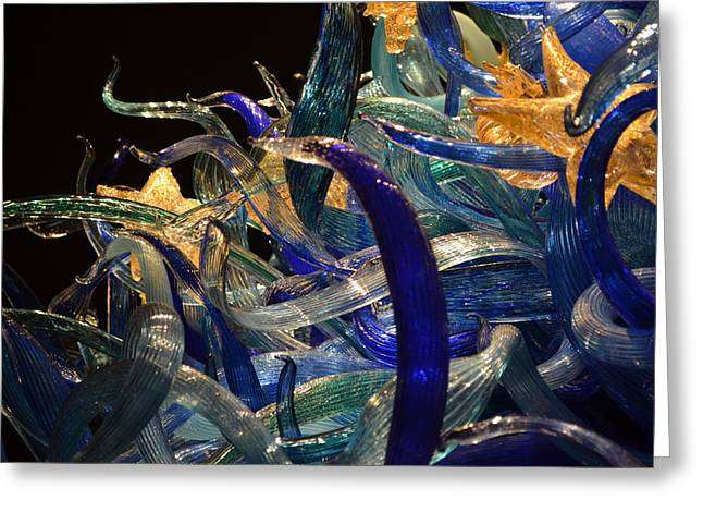 Chihuly-3 Greeting Card by Dean Ferreira
