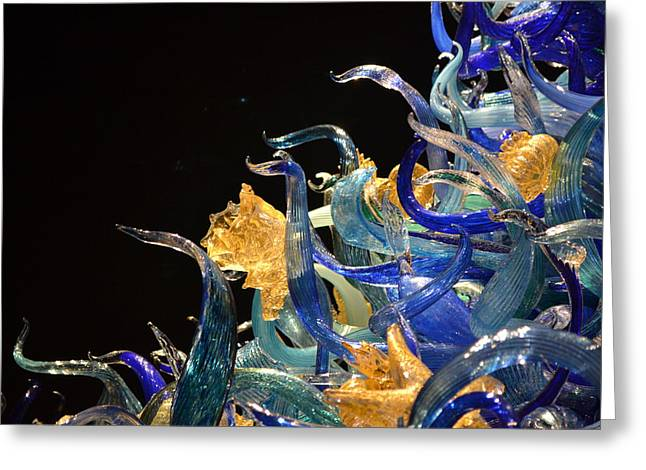 Chihuly-4 Greeting Card by Dean Ferreira
