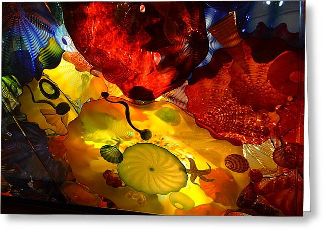 Chihuly-5 Greeting Card by Dean Ferreira