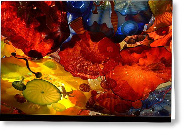 Chihuly-6 Greeting Card by Dean Ferreira