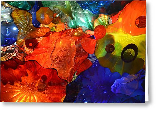 Chihuly-8 Greeting Card by Dean Ferreira