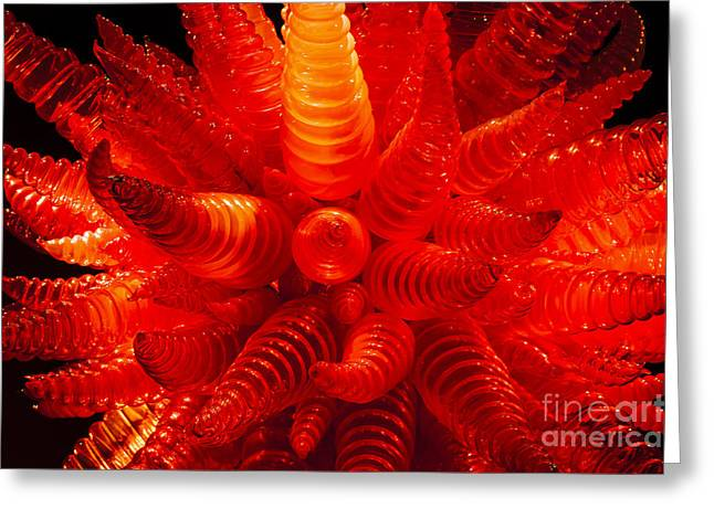 Chihuly Glass 2 Greeting Card