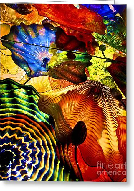 Chihuly Persian Ceiling Greeting Card