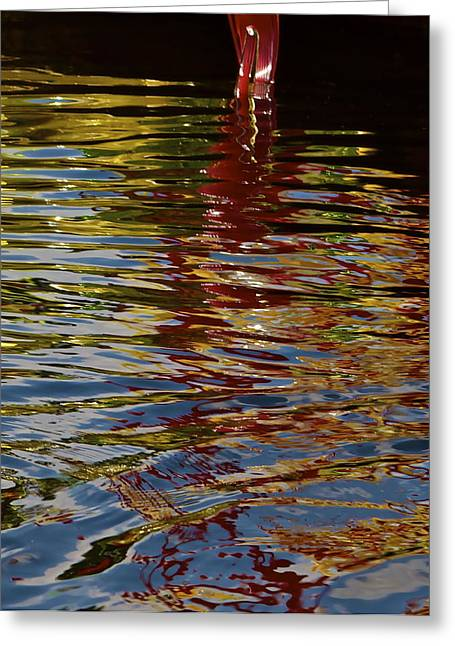 Greeting Card featuring the photograph Chihuly Reflections IIi by John Babis
