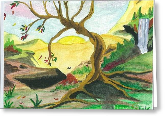 Child Of Earth Greeting Card by Jeanel Walker