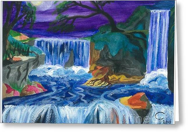 Child Of Water Greeting Card by Jeanel Walker