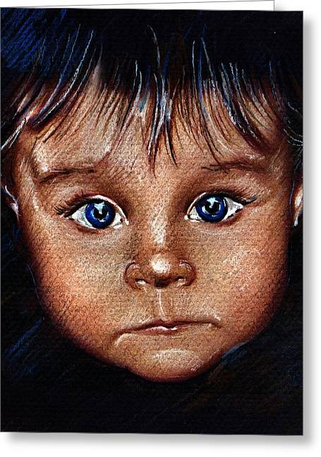 Child Portrait Greeting Card