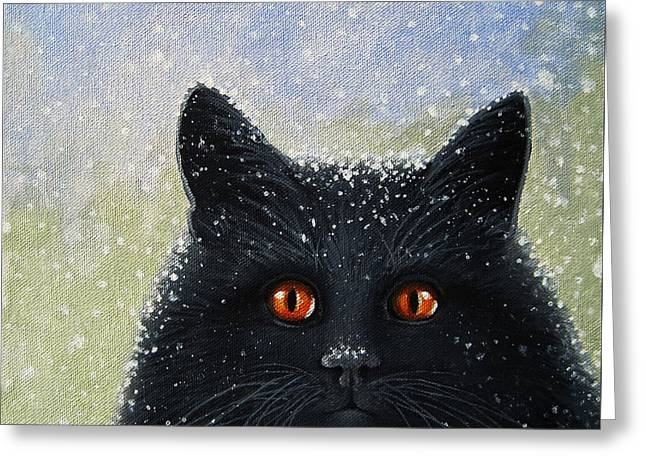 Children's Book Cover Painting Greeting Card by Linda Apple
