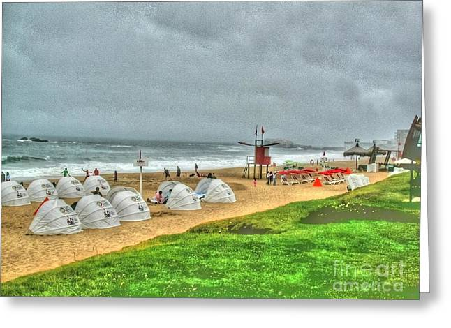 Chile Beach Day South America Greeting Card by Tap On Photo