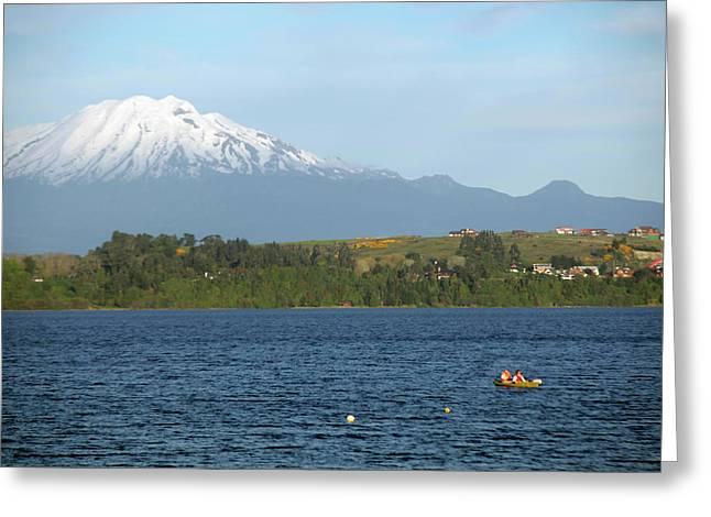 Chile, Puerto Varas Greeting Card by Kymri Wilt