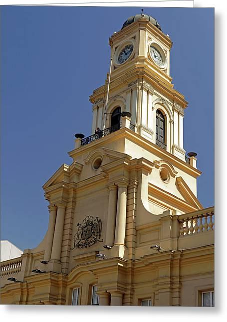 Chile, Santiago Royal Court Palace Greeting Card