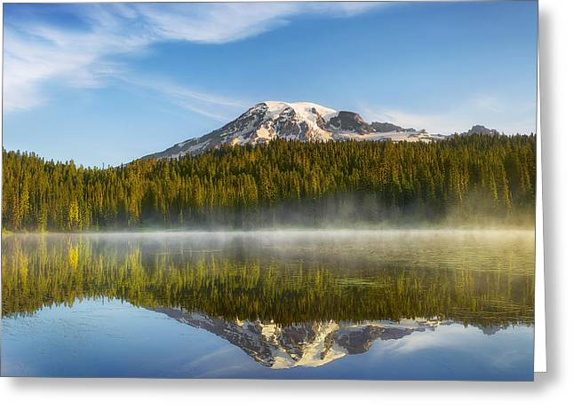Chill In The Air Greeting Card by Ryan Manuel