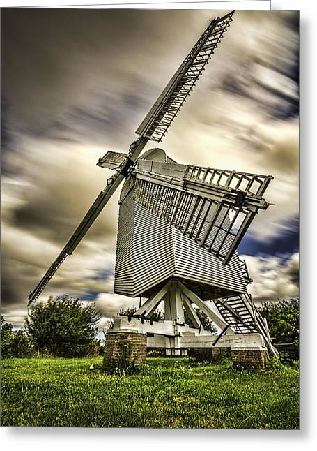 Chillenden Windmill Kent Greeting Card
