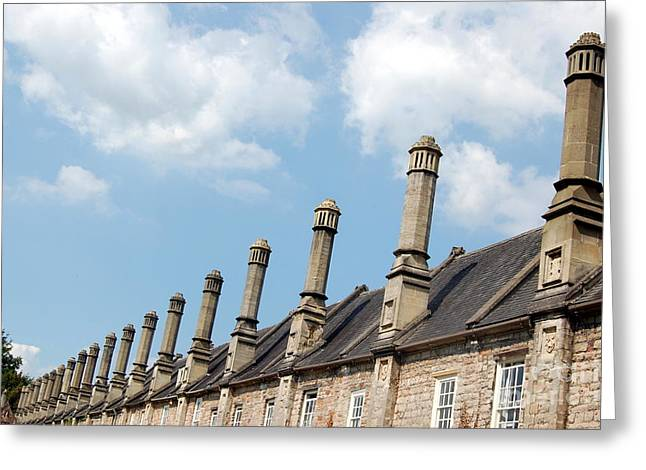 Chimney Stacks At The Ready Greeting Card