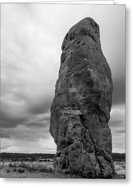 Chimney Rock Greeting Card by Kevin Grant