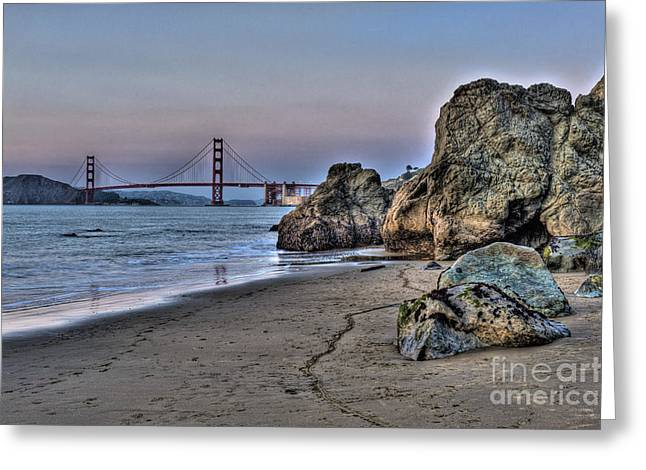 China Beach Greeting Card by Ryan Hughes
