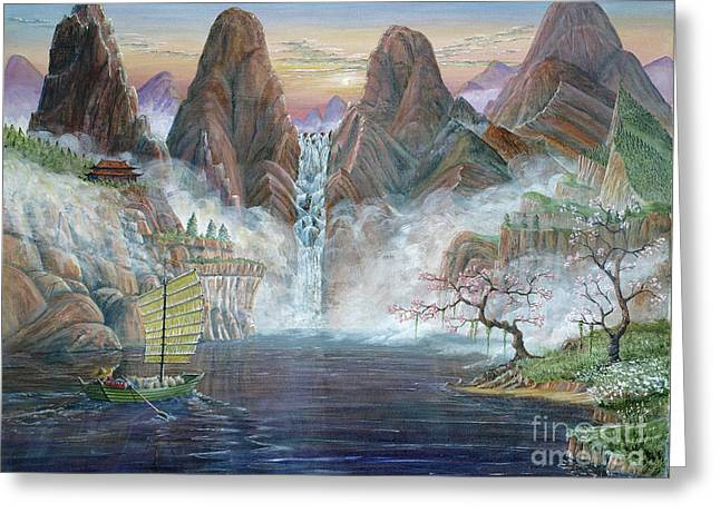 China Dawn Greeting Card