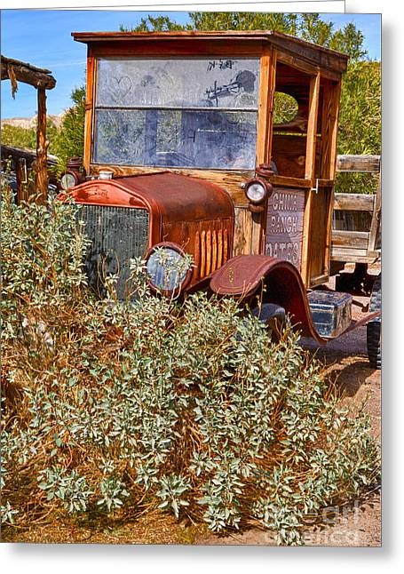 China Ranch Truck Greeting Card by Jerry Fornarotto