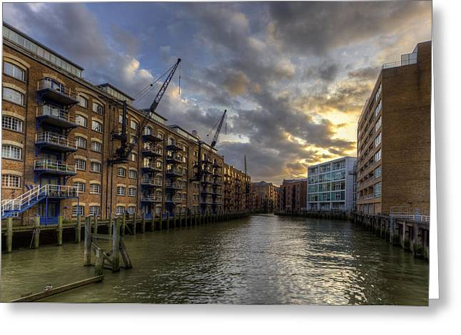 China Wharf Greeting Card