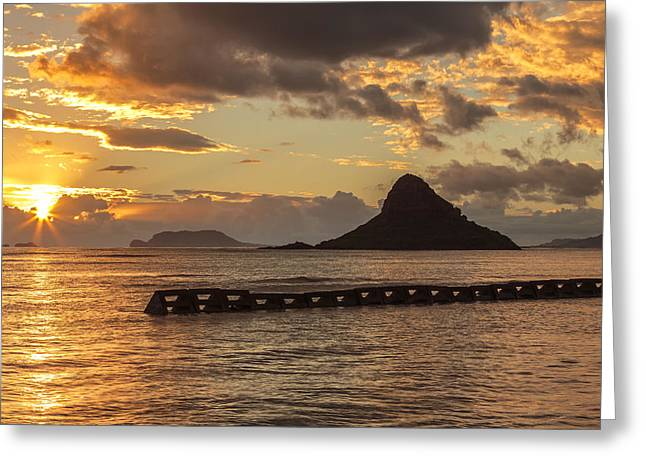 Chinaman's Hat 5 Greeting Card