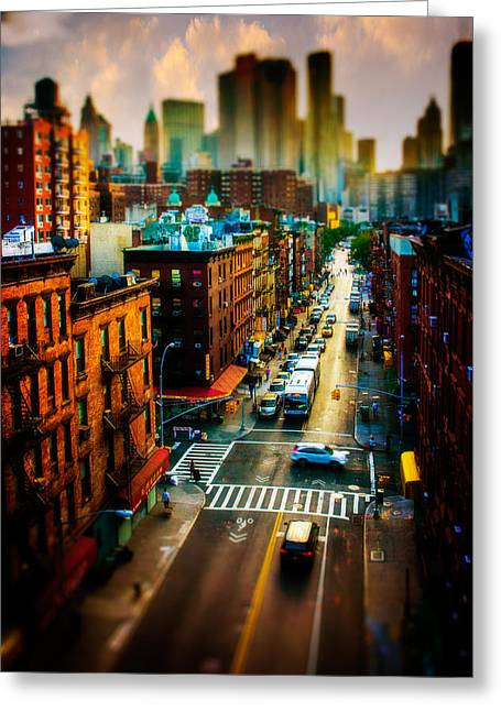 Chinatown Streets Greeting Card by Chris Lord