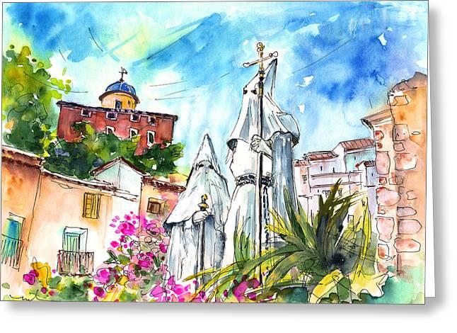 Chinchilla De Monte Aragon 04 Greeting Card