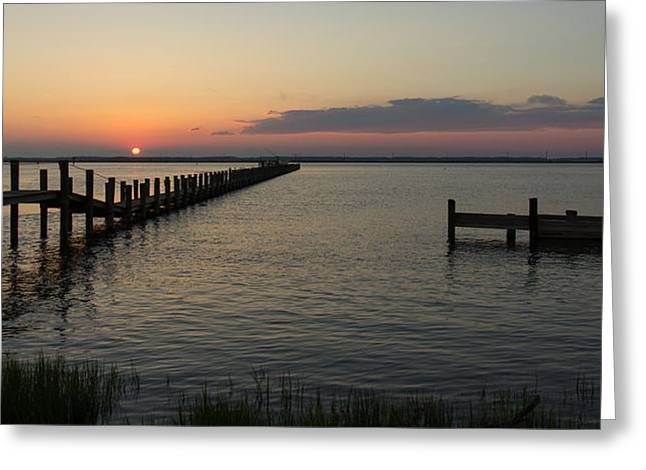Chincoteague Island Sunset Greeting Card