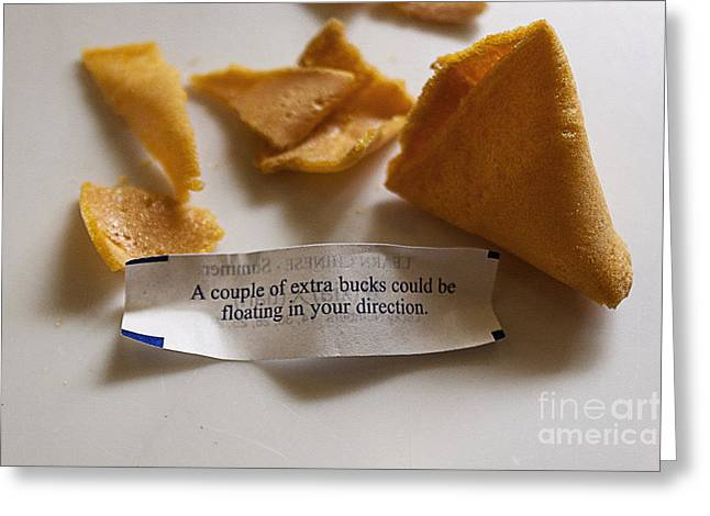 Chinese Fortune Cookie Greeting Card