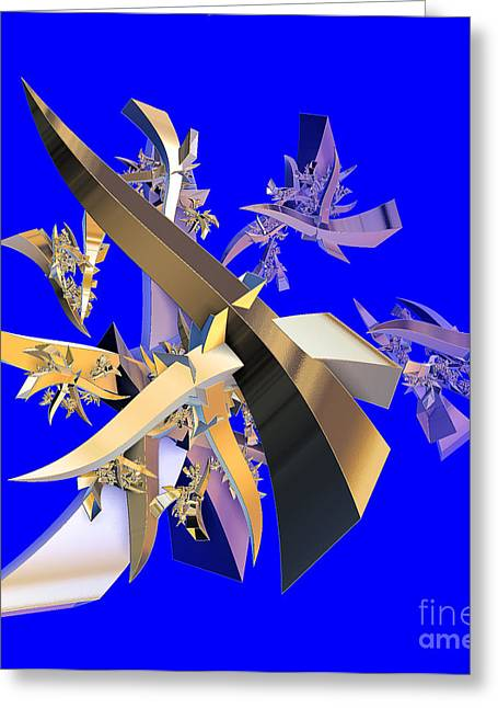 Chinese Puzzle Greeting Card by Brian Raggatt