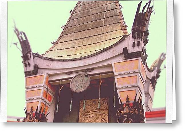 Chinese Theater Greeting Card