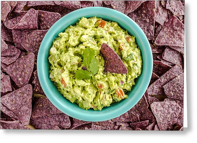 Chips And Guacamole Greeting Card