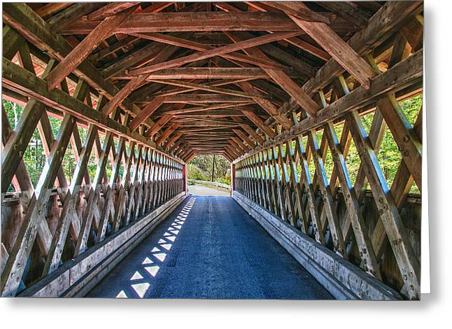 Chiselville Bridge Greeting Card