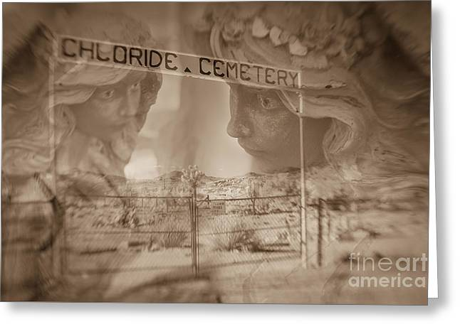Chloride Cemetery Greeting Card