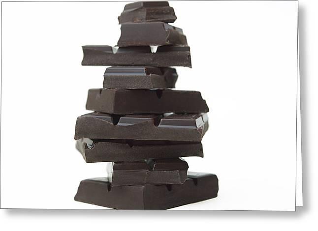 Chocolate Greeting Card by Bernard Jaubert