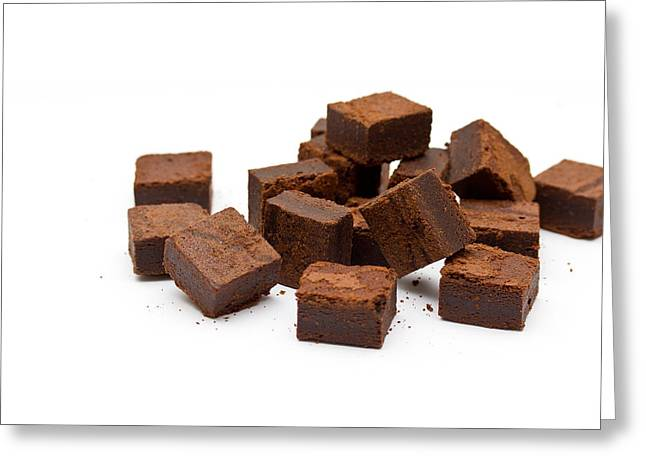 Chocolate Brownies Greeting Card