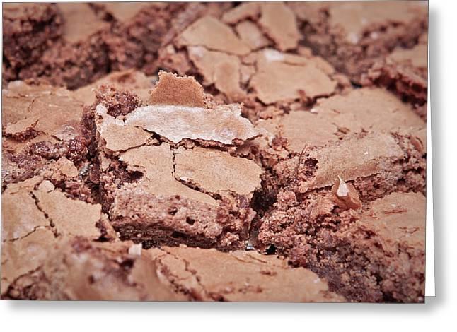 Chocolate Brownies Greeting Card