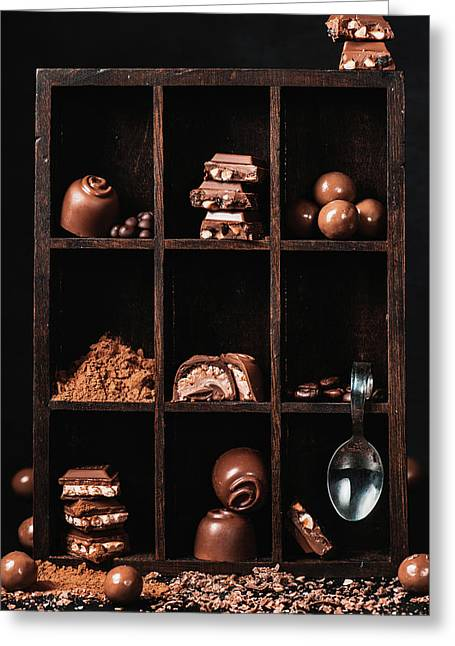 Chocolate Collection Greeting Card