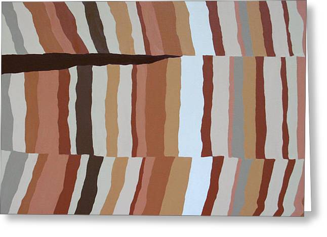 Chocolate Fault - Orig Sold Greeting Card by Paul Anderson