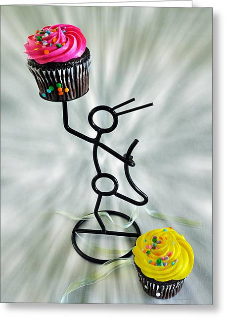 Chocolate Makes My Spirit Soar Greeting Card by Kenny Francis
