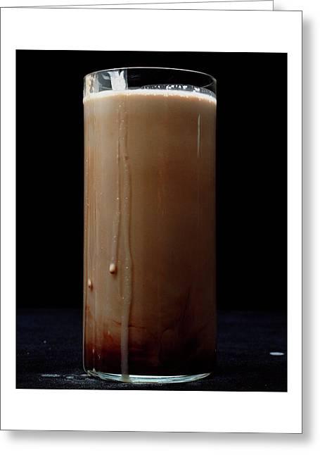 Chocolate Milk Greeting Card